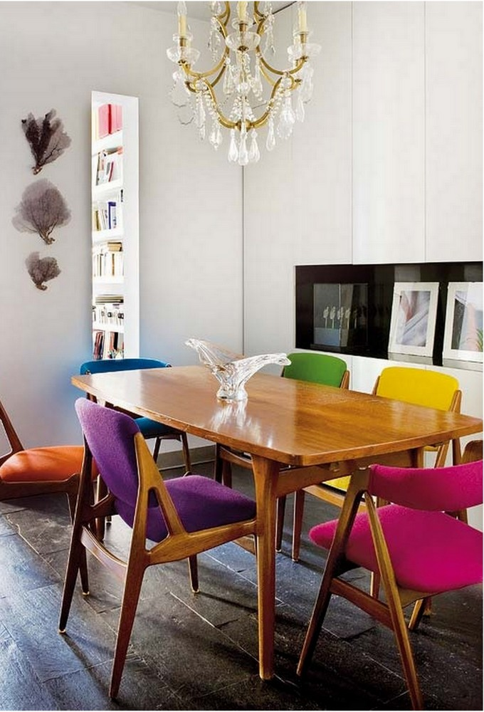 Stunning Colorful Dining Room (15)