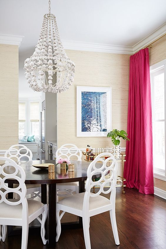 Stunning Colorful Dining Room (2)