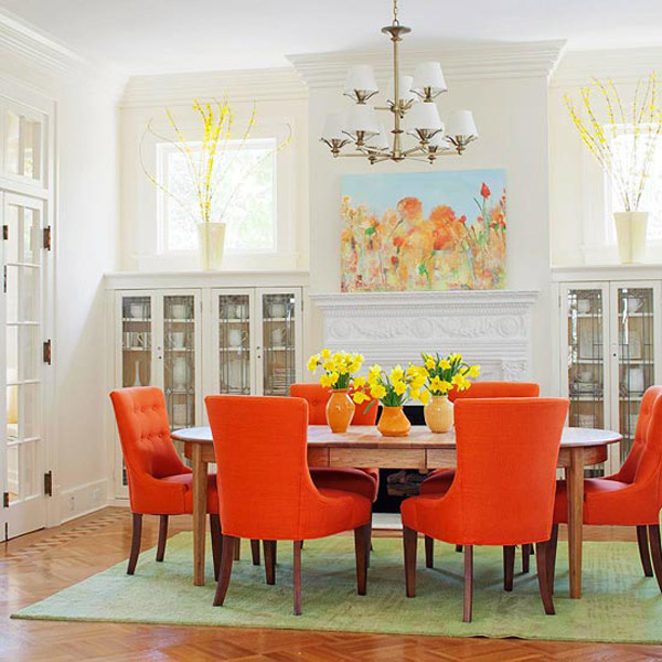 37 Stunning Christmas Dining Room Décor Ideas: 28 Stunning Colorful Dining Room Design Ideas