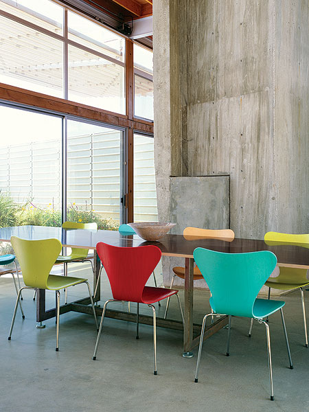 Stunning Colorful Dining Room (5)