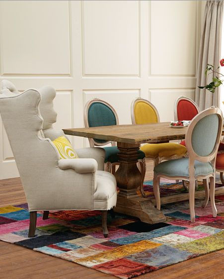 Stunning Colorful Dining Room (6)