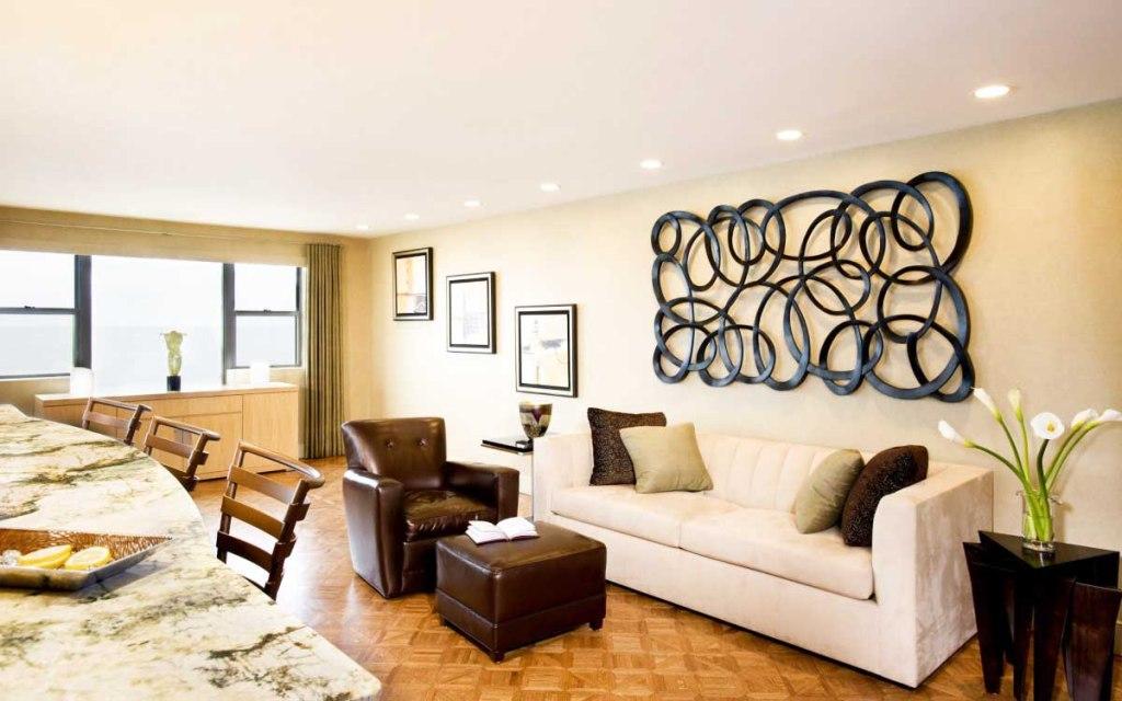 Unique Wall Art For Contemporary Living Room