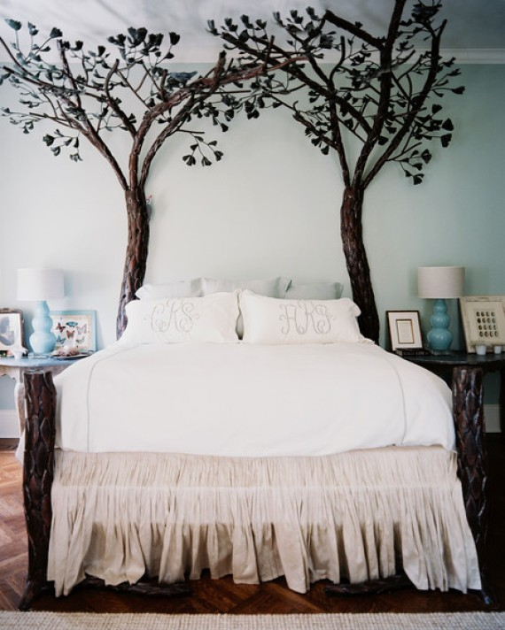 Vintage Forest Inspired Bedroom