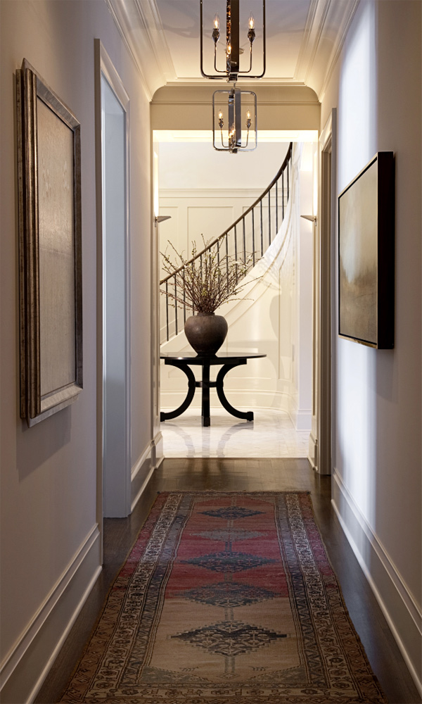 21 ways to refresh your hallway design ideas for Design for hall decoration