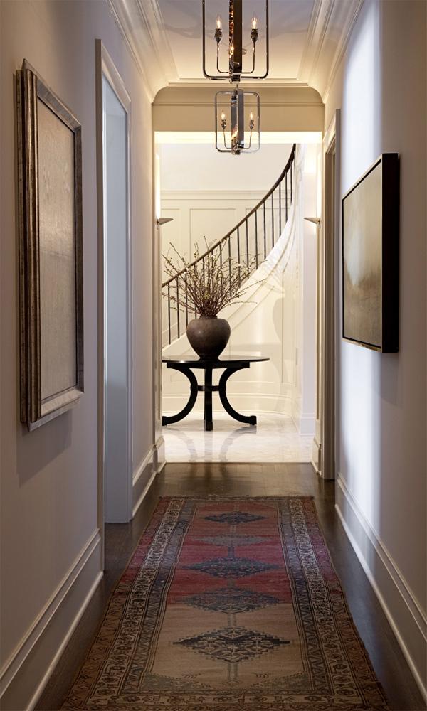 farmhouse hallway design idea