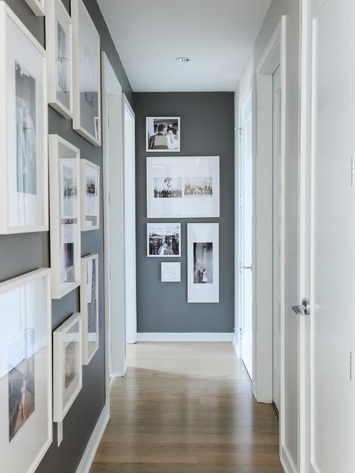 scandinavian hallway design