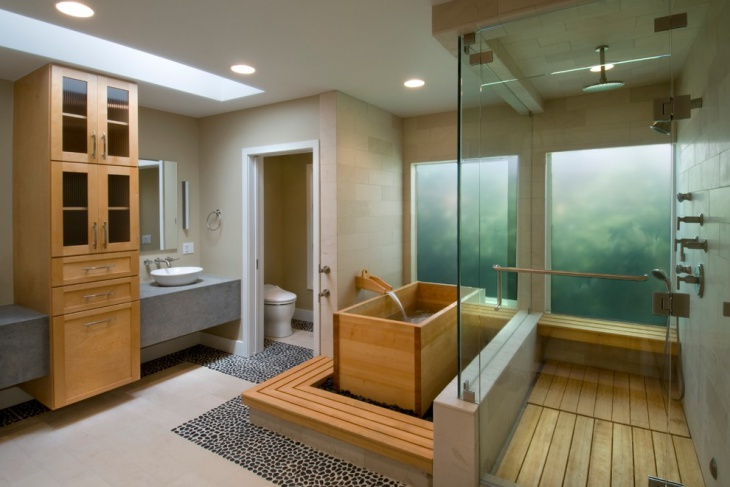 Amazing Bathrooms With Wooden Bathtub (5)