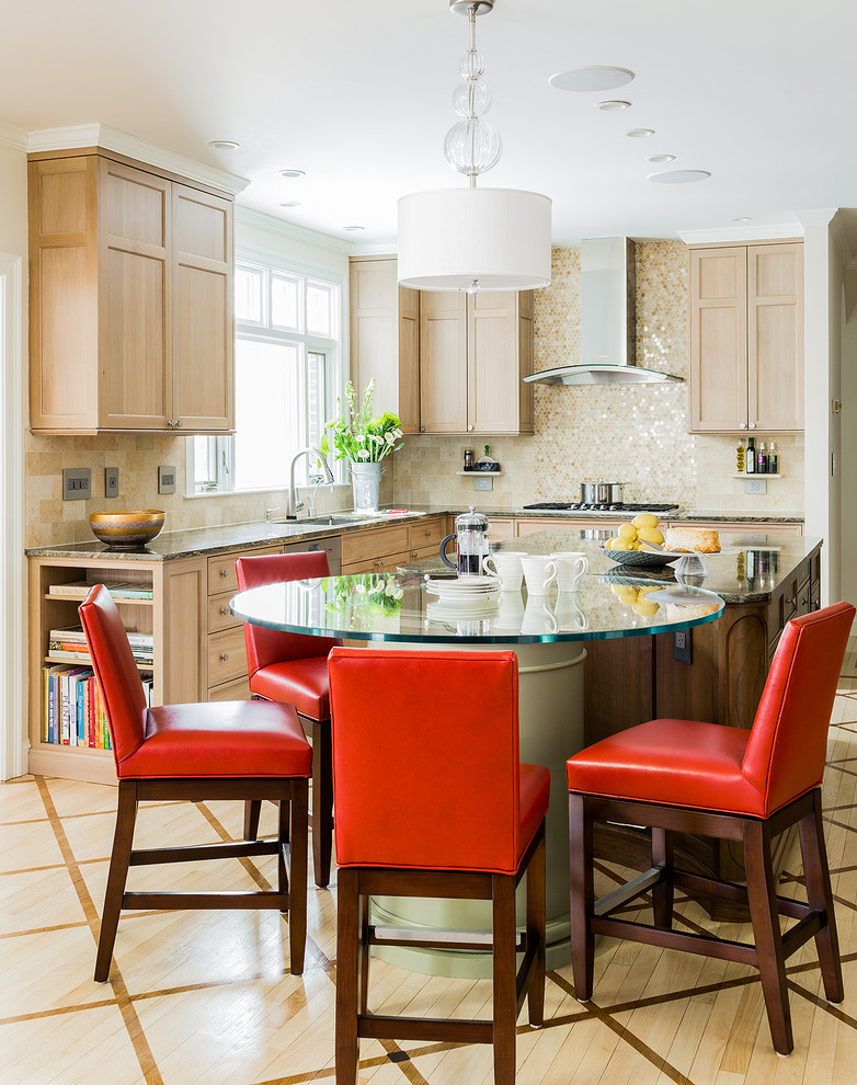 Contemporary Traditional Kitchen Design Inspiration (1)