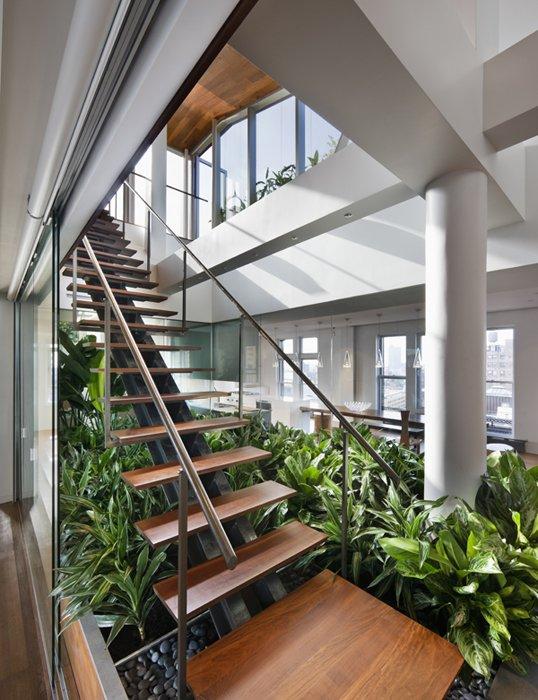 Cool garden under stairs design ideas