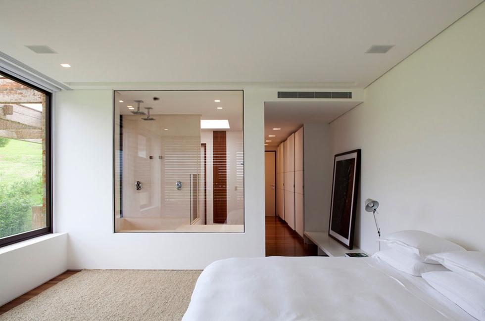 Hotel Style Glass Bathroom