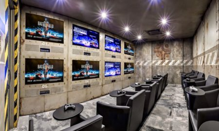Industrial Home Theater