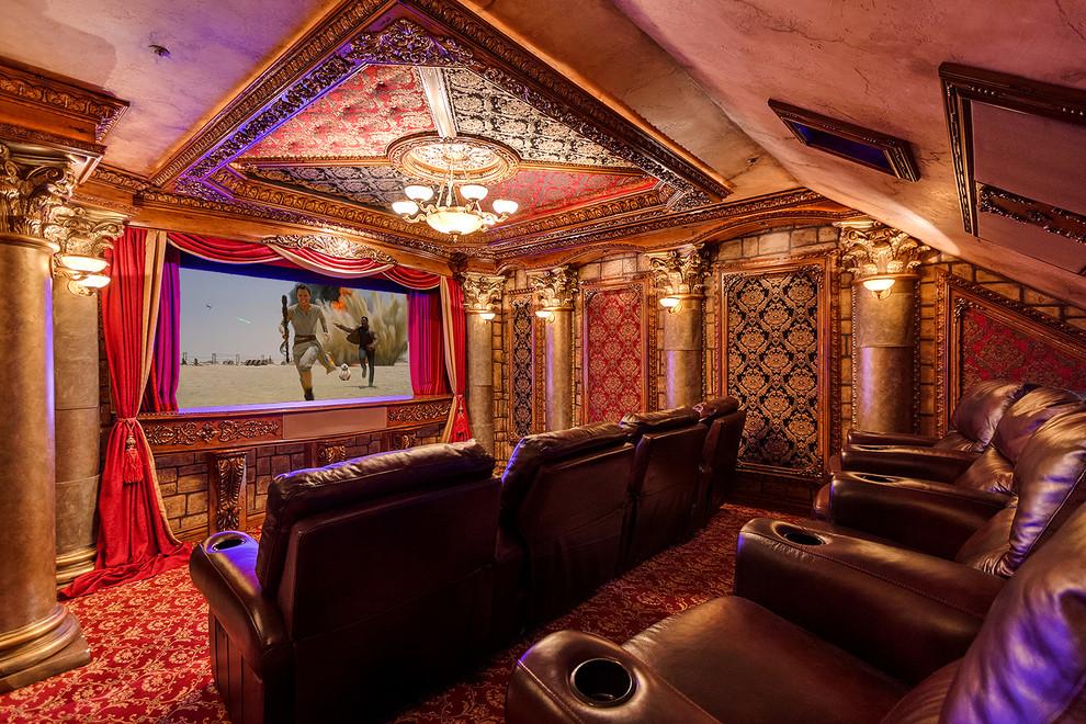 Mediterranean Home Theater