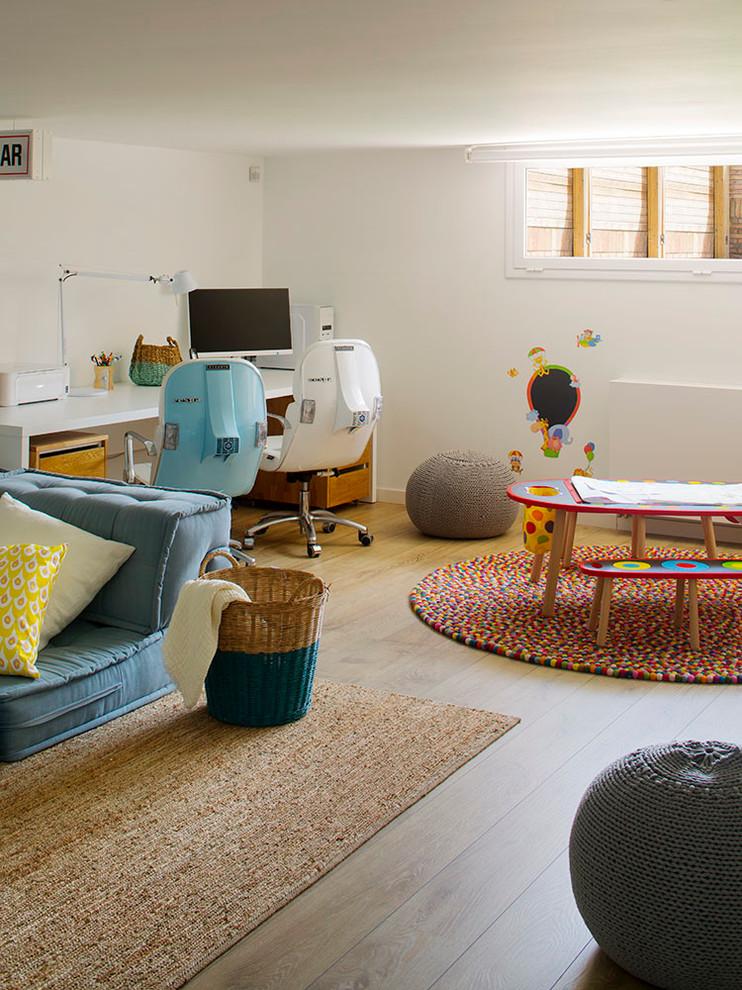 Mediterranean Kids Room Design
