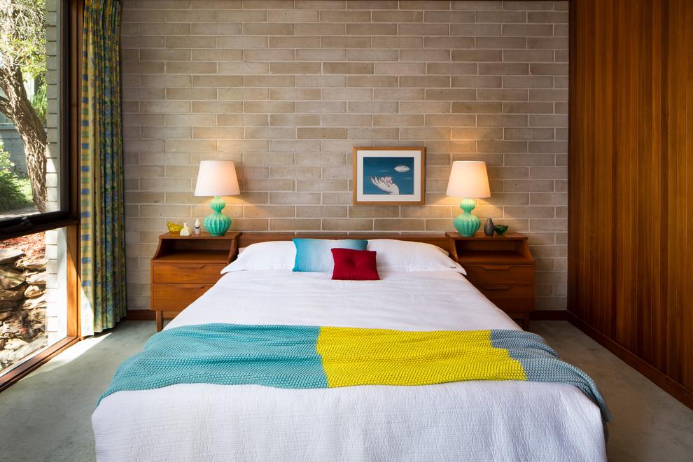 Midcentury Bedroom Design