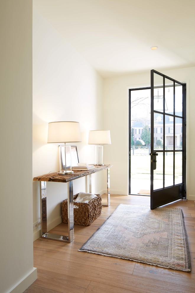 Modern Entry With Beautiful Staircase2