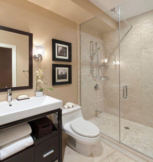 Modern Frameless Shower Enclosure