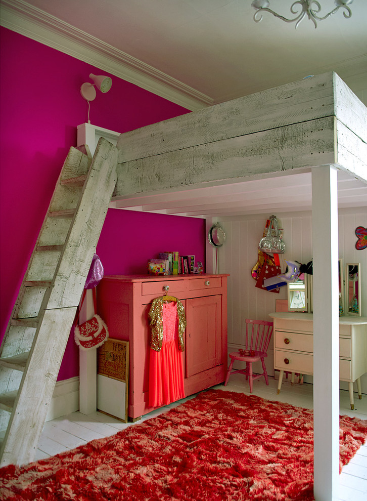 Shabby-Chic Style Kids Room Design