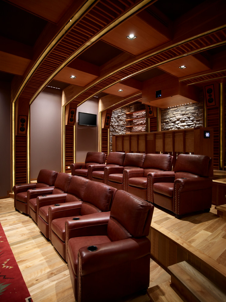 20 luxurious home theater design ideas. Black Bedroom Furniture Sets. Home Design Ideas