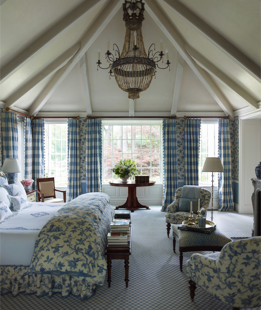 looking for comfortable and spacious bedroom them traditional bedroom