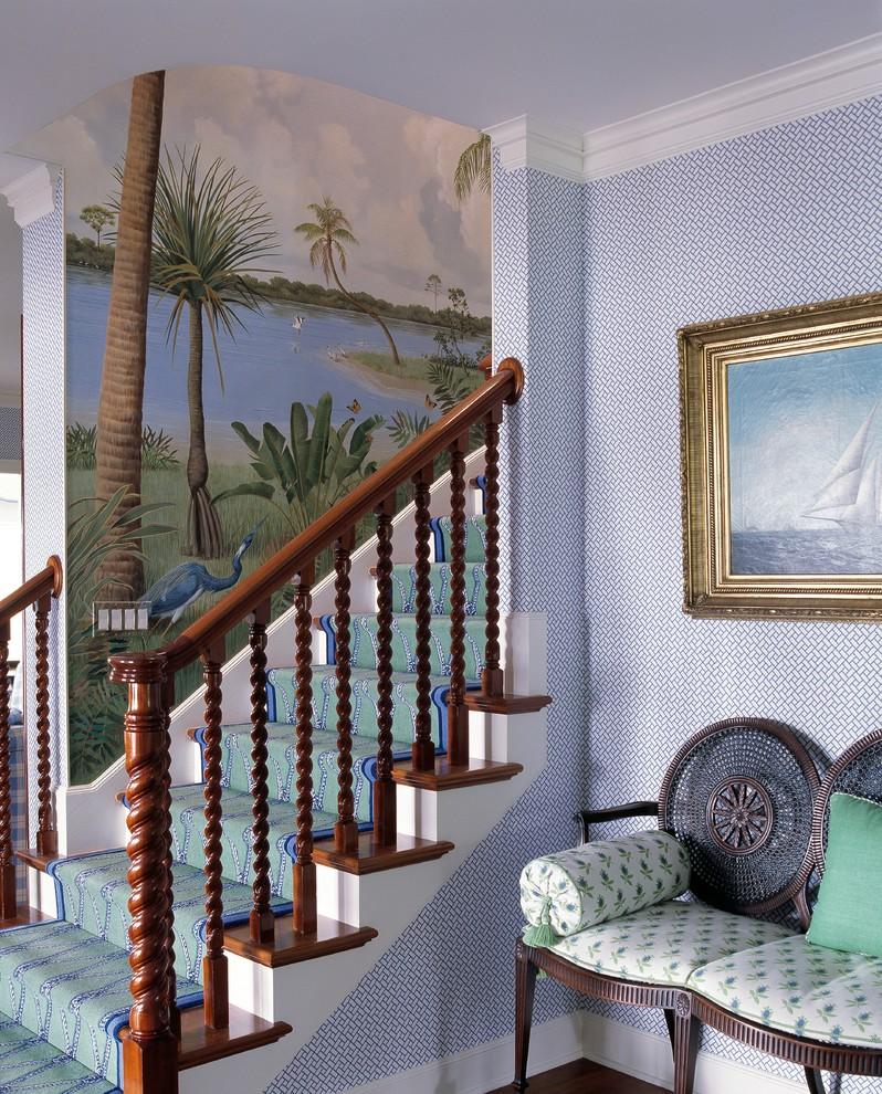 Tropical Staircase Design