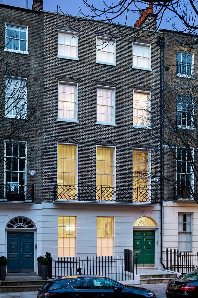 Victorian Exterior Showing Double Front Door1