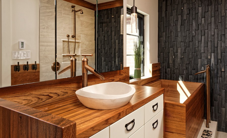 15 best small bathroom ideas for 2017 for Bathroom designs 2017