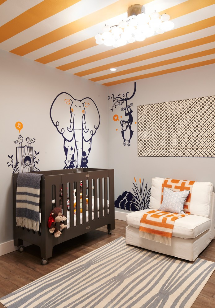 Nursery Design Ideas Eclectic Nursery Design With A Splash Of Blue Design  Shryne Design Beach Style