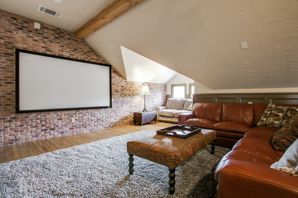 Craftsman Home Theater Design