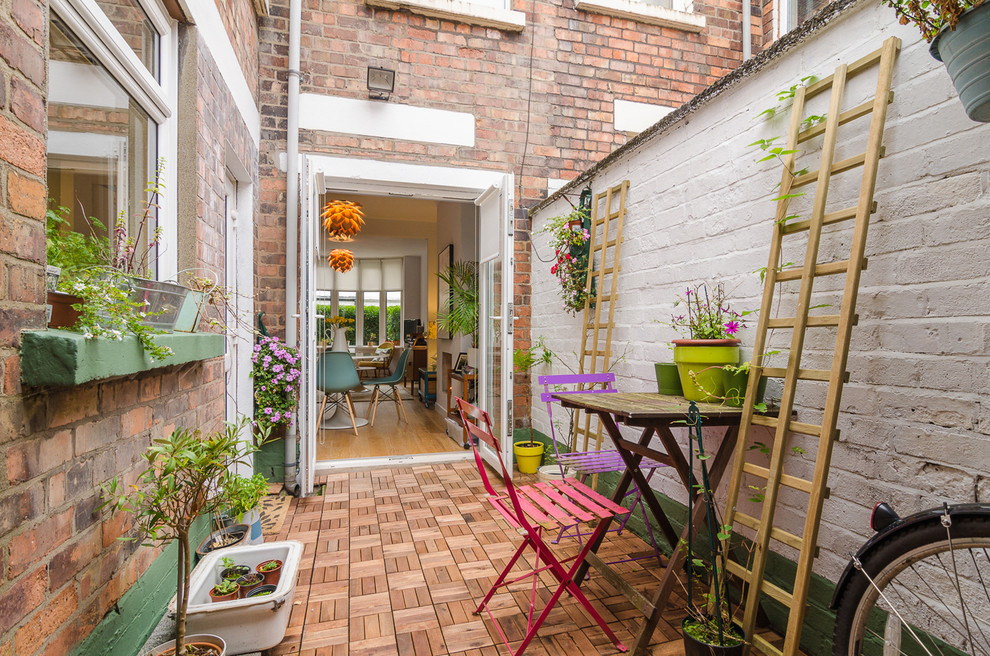 Eclectic Patio Design