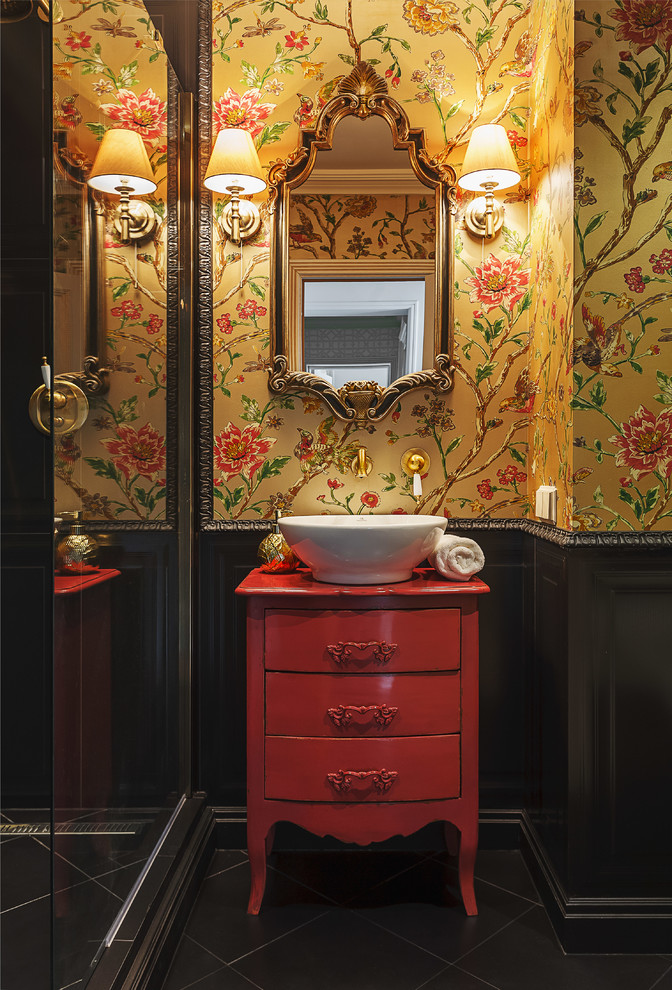 18 beautiful powder room design ideas - Powder room layouts for small spaces photos ...