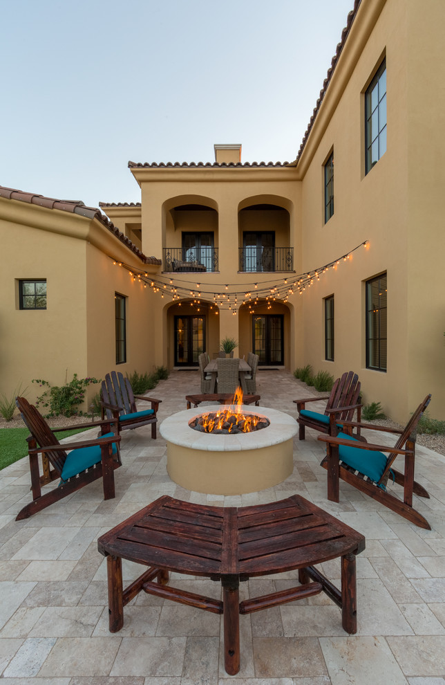 Mediterranean Patio Design