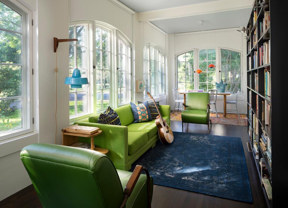 Midcentury Family Room Design