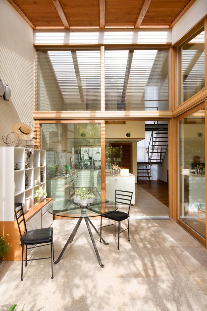 Midcentury Patio Design