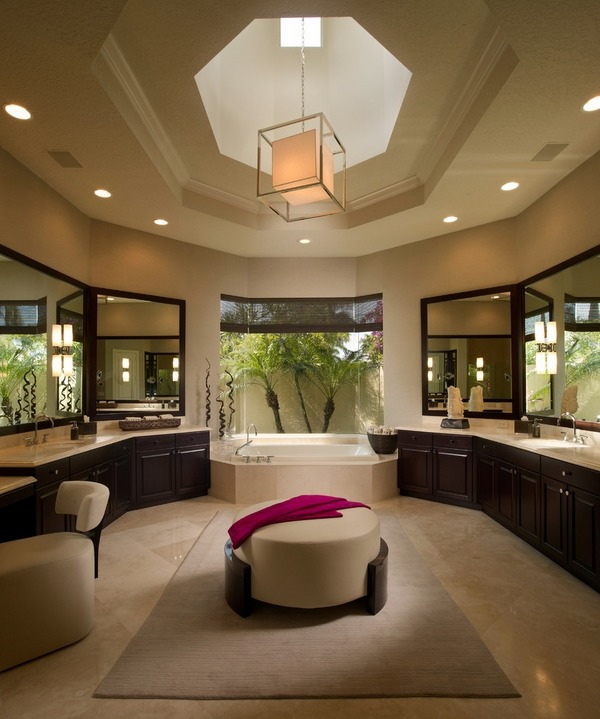 Decorating Ideas > 25 Modern Luxury Master Bathroom Design Ideas ~ 022549_Luxury Bathroom Decorating Ideas