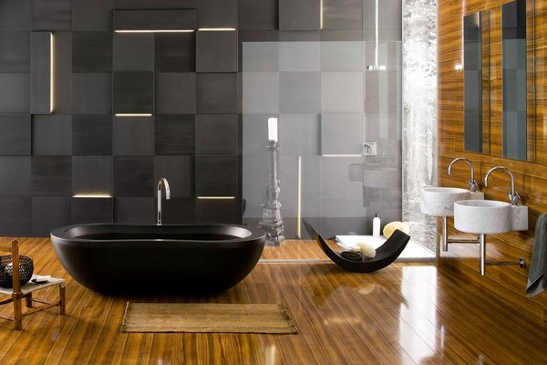 modern luxury master bathroom design ideas 17 - Modern Master Bathroom Designs