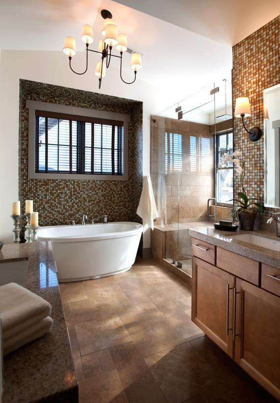 25 Modern Luxury Master Bathroom Design Ideas on Master Bath Remodel Ideas  id=14256