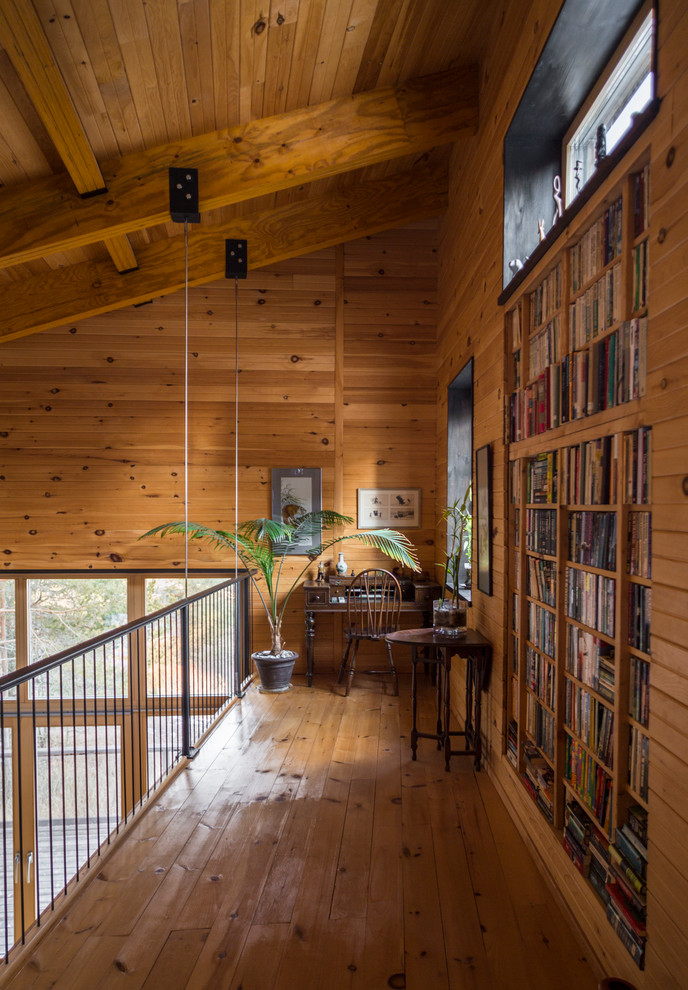 Rustic Residence Designed By Tierney Haines Architects: 15 Fresh Home Office Design Ideas