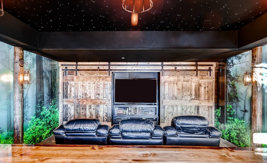 rustic home theater design - Best Home Theater Design
