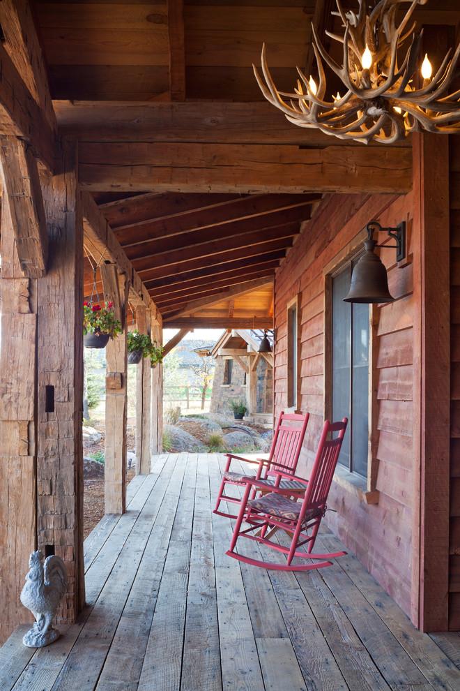 Rustic Porch Design