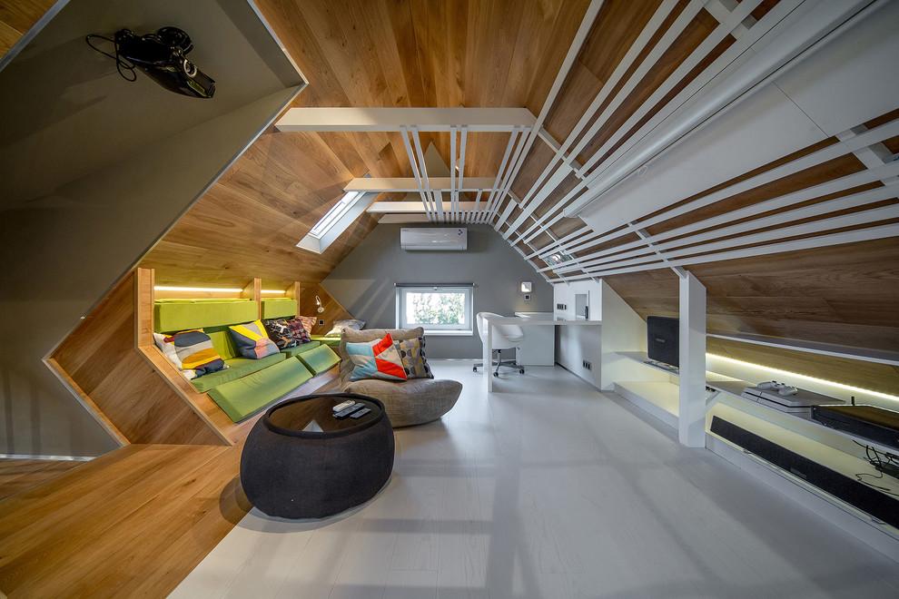 Scandinavian Home Theater Design