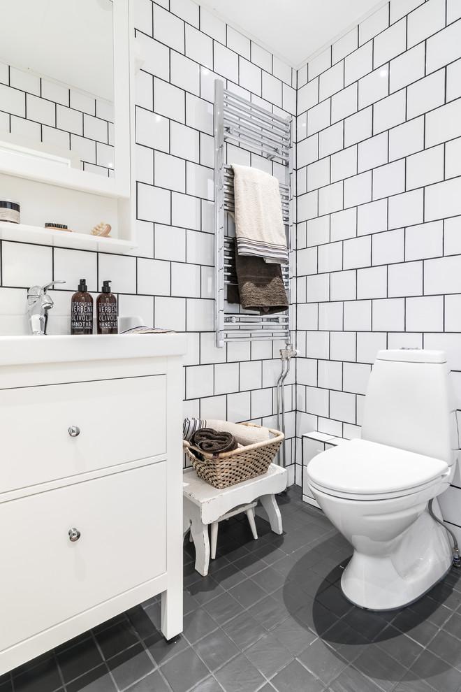 Scandinavian Powder Room Design