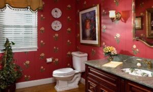 Victorian Powder Room Design