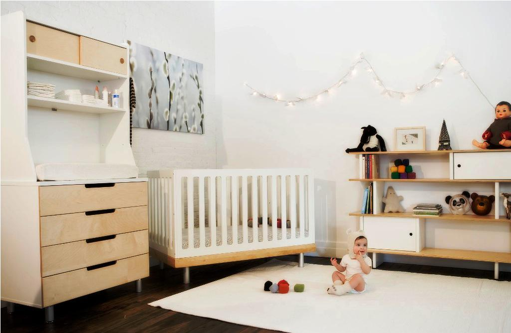 31 stunning modern nursery design ideas for Baby s room decoration ideas