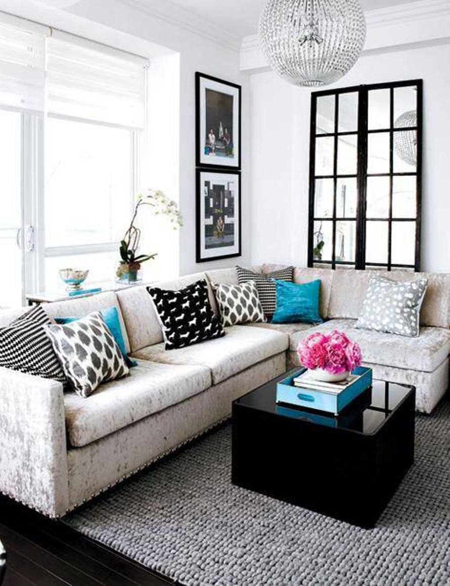 Designs For Sofas For The Living Room: 25 Beautiful Small Living Rooms