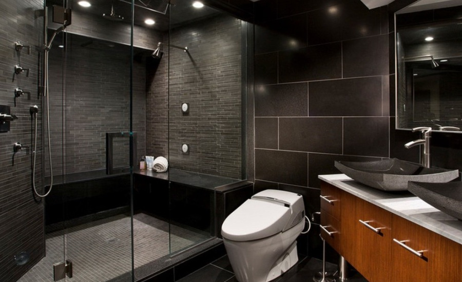 Pictures Of Modern Bathroom Designs : Unique modern bathroom shower design ideas