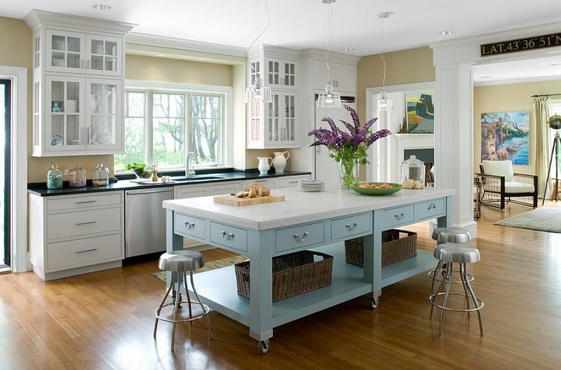 blue-and-white-kitchen-island