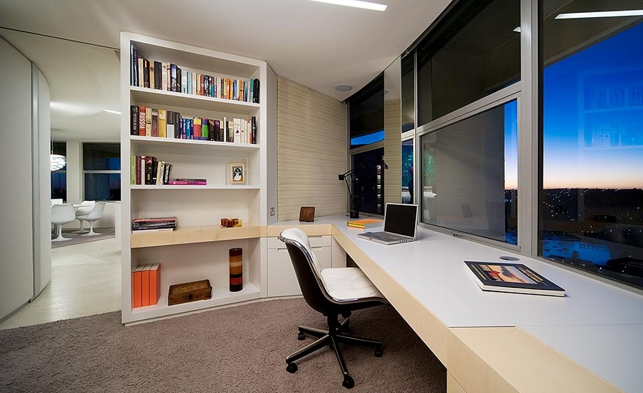 Wonderful Contemporary Home Office Design Ideas