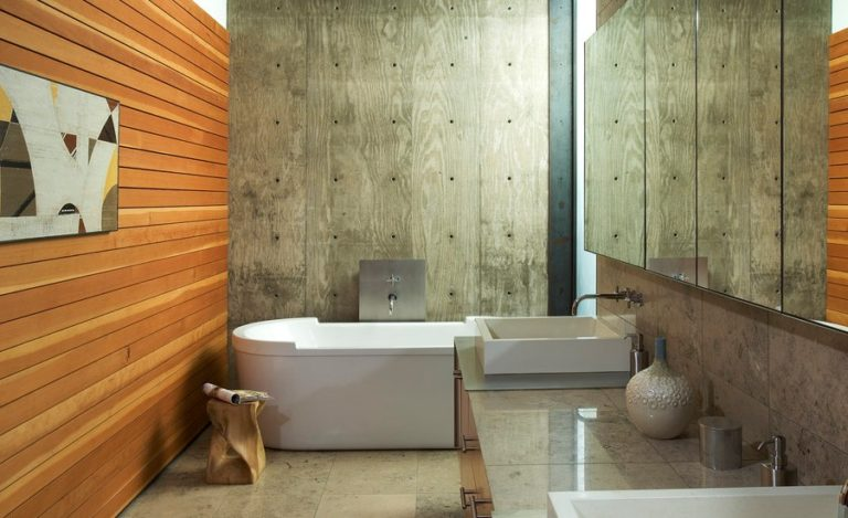 15 Cool Concrete Bathroom Design Ideas