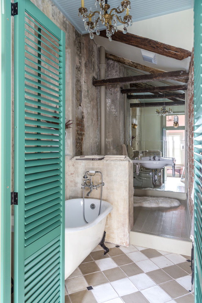 15 cool concrete bathroom design ideas New orleans style decor