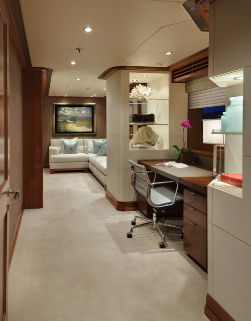 contemporary-home-office-with-partition